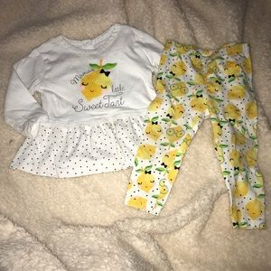 Mamas little sweet tart - lemon outfit